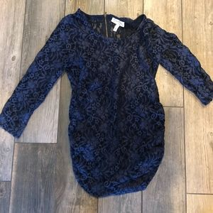 Jessica Simpson All lace maternity blouse